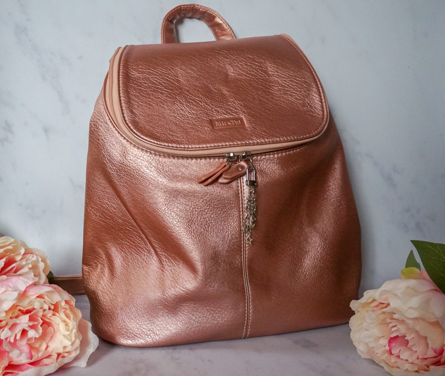 Mia Tui Review – Maya Backpack in Rose Gold