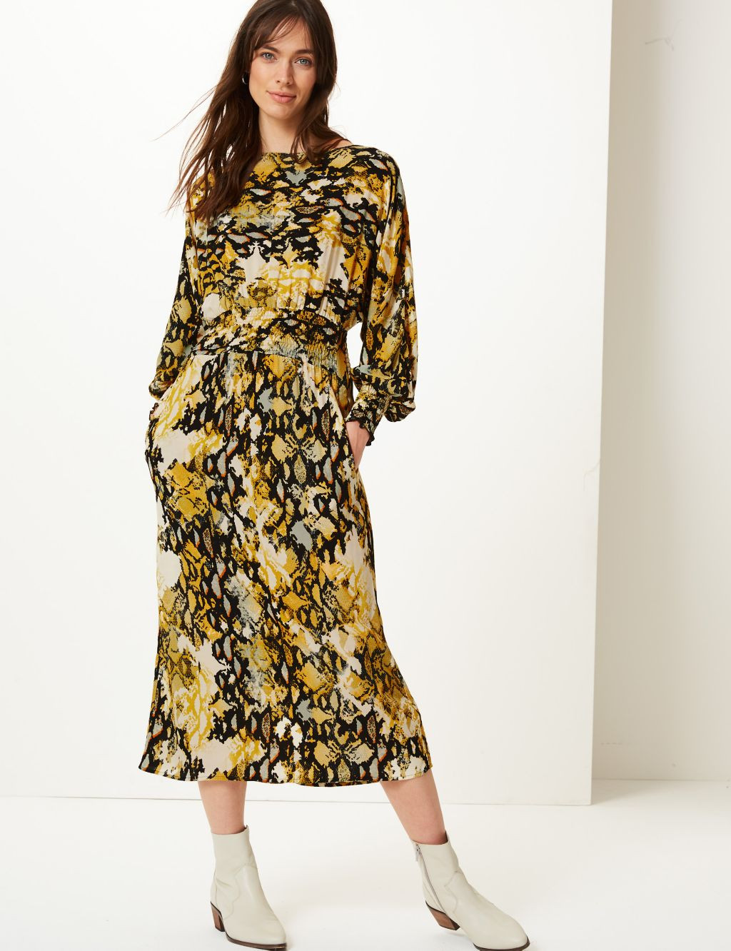 MArks winter midi dress