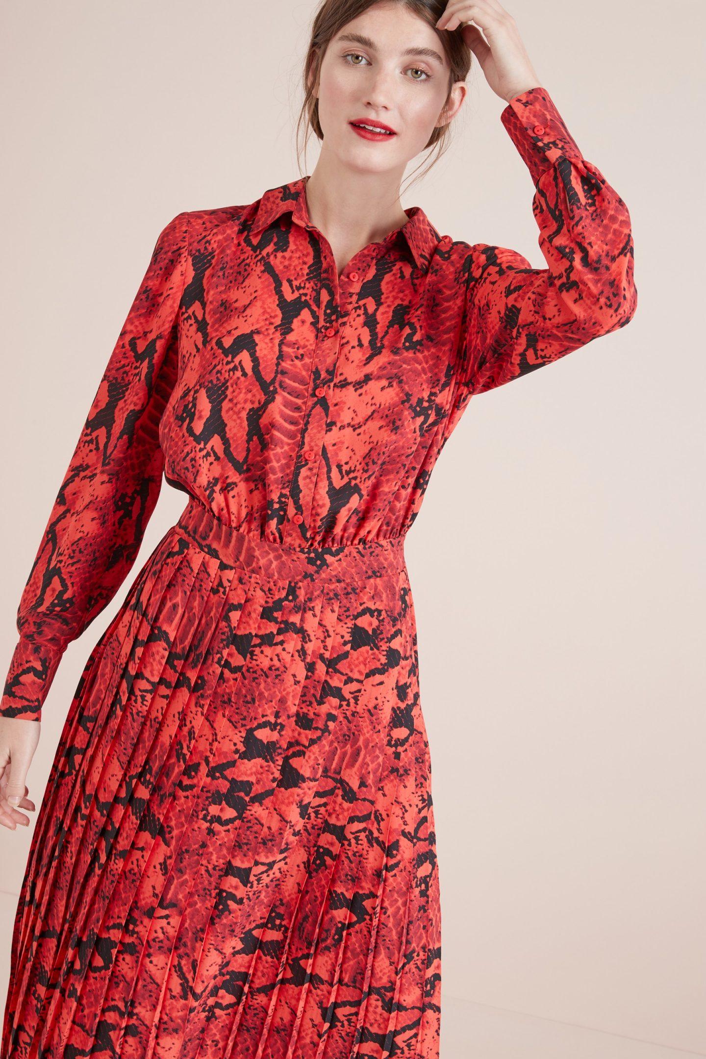 Next winter midi dress